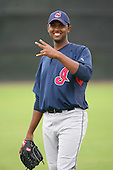 March 20th 2008:  Jose Urena of the Cleveland Indians minor league system during Spring Training at Chain of Lakes Training Complex in Winter Haven, FL.  Photo by:  Mike Janes/Four Seam Images