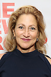 """Edie Falco attends the New Group World Premiere of """"The True"""" on September 20, 2018 at The Green Fig Urban Eatery in New York City."""