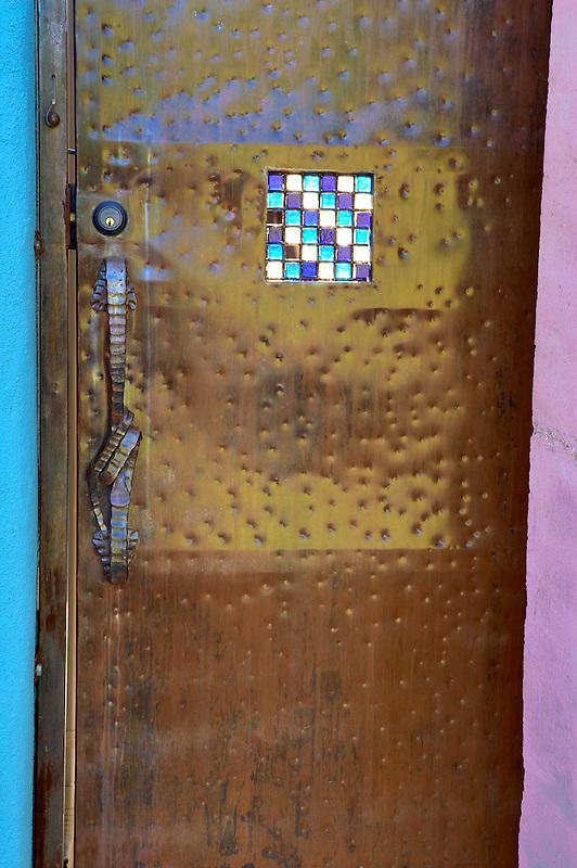 Metal door. Tucson. Arizona