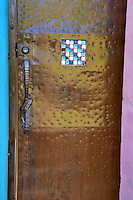 Metal door. Tucson. Arizona