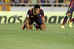 FC Barcelona's Neymar Santos Jr during La Liga match.September 1,2013. (ALTERPHOTOS/Acero)