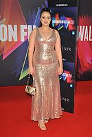 """Amel Racchedi at the 65th BFI London Film Festival """"The Souvenir Part II"""" The Londoner gala, Royal Festival Hall, Belvedere Road, on Friday 08th October 2021, in London, England, UK. <br /> CAP/CAN<br /> ©CAN/Capital Pictures"""