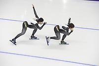 OLYMPIC GAMES: PYEONGCHANG: 17-02-2018, Gangneung Oval, Long Track, Training session, Nao Kodaira (JPN), ©photo Martin de Jong