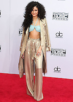 LOS ANGELES, CA, USA - NOVEMBER 23: Zendaya arrives at the 2014 American Music Awards held at Nokia Theatre L.A. Live on November 23, 2014 in Los Angeles, California, United States. (Photo by Xavier Collin/Celebrity Monitor)