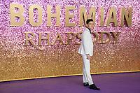"Rami Malek<br /> arriving for the ""Bohemian Rhapsody"" World premiere at Wembley Arena, London<br /> <br /> ©Ash Knotek  D3455  23/10/2018"
