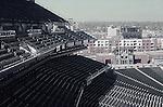 EMPTY SEATS AT COORS FIELD STADIUM IN DENVER COLORADO