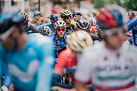 Philippe Gilbert (BEL/Quick Step floors) at the start<br /> <br /> Stage 5: Gstaad > Leukerbad (155km)<br /> 82nd Tour de Suisse 2018 (2.UWT)