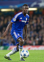 Ramires of Chelsea looks for options during the UEFA Champions League Group G match between Chelsea and Dynamo Kyiv at Stamford Bridge, London, England on 4 November 2015. Photo by Andy Rowland.