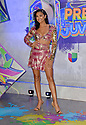 CORAL GABLES, FLORIDA - JULY 22: Kiara Liz attends Premios Juventud 2021 - Arrivals at Watsco Center on July 22, 2021 in Coral Gables, Florida. ( Photo by Johnny Louis / jlnphotography.com )