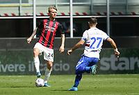 Milano 03-04-2021<br /> Stadio Giuseppe Meazza<br /> Serie A  Tim 2020/21<br /> Milan - Sampdoria<br /> Nella foto:  Simon Kjaer                                    <br /> Antonio Saia Kines Milano
