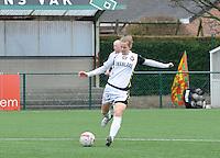 Dames Zulte-Waregem - Telstar : Kim Dolstra.foto DIRK VUYLSTEKE / Vrouwenteam.be