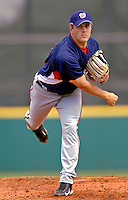 7 March 2007: Washington Nationals pitcher Shawn Hill on the mound against the Houston Astros at Osceola County Stadium in Kissimmee, Florida. <br /> <br /> Mandatory Photo Credit: Ed Wolfstein Photo