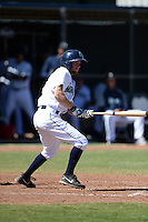 Seattle Mariners second baseman Nelson Ward (8) during an Instructional League game against the Milwaukee Brewers on October 4, 2014 at Peoria Stadium Training Complex in Peoria, Arizona.  (Mike Janes/Four Seam Images)