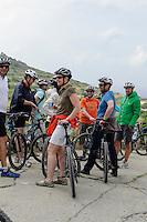 Radsportler bei der Bingemma-Kapelle, Malta, Europa