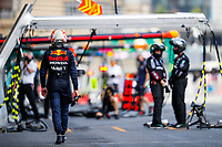 VERSTAPPEN Max (ned), Red Bull Racing Honda RB16B after his crash during the Formula 1 Azerbaijan Grand Prix 2021 from June 04 to 06, 2021 on the Baku City Circuit, in Baku, Azerbaijan -<br /> FORMULA 1 : Grand Prix Azerbaijan <br /> 06/06/2021 <br /> Photo DPPI/Panoramic/Insidefoto <br /> ITALY ONLY