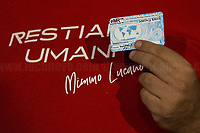 12.09.2019 - Dream: Being Citizens of The World - World ID Card Earth's Inhabitant to Mimmo Lucano
