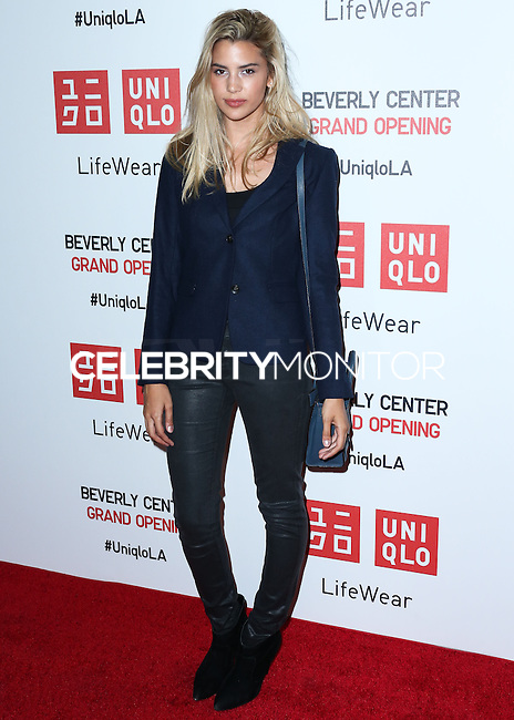 LOS ANGELES, CA, USA - OCTOBER 09: Kenya Jones arrives at the UNIQLO Los Angeles Store Opening held at the UNIQLO Beverly Center Store on October 9, 2014 in Los Angeles, California, United States. (Photo by Xavier Collin/Celebrity Monitor)