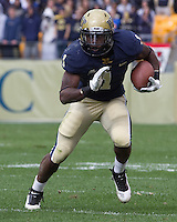 Pitt running back Ray Graham. The Utah Utes defeated the Pitt Panthers 26-14 at Heinz Field, Pittsburgh, Pennsylvania on October 15, 2011.