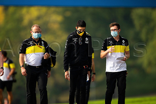 30th October 2020, Imola, Italy; FIA Formula 1 Grand Prix Emilia Romagna, inspection day; Esteban Ocon FRA 31, Renault DP World F1 Team
