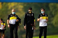 30th October 2020, Imola, Italy; FIA Formula 1 Grand Prix Emilia Romagna, inspection day; Esteban Ocon FRA 31, Renault DP World F1 Team