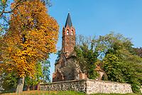 Kirche von Altkünkendorf, Angermünde, Uckermark, Brandenburg, Deutschland