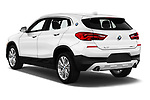 Car pictures of rear three quarter view of a 2019 BMW X2 Standard 5 Door SUV angular rear