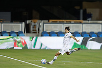 SAN JOSE, CA - SEPTEMBER 19: Diego Valeri #8 of the Portland Timbers during a game between Portland Timbers and San Jose Earthquakes at Earthquakes Stadium on September 19, 2020 in San Jose, California.