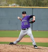Jordan Foley - Colorado Rockies 2020 spring training (Bill Mitchell)