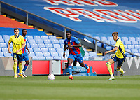 5th September 2020; Selhurst Park, London, England; Pre Season Friendly Football, Crystal Palace versus Brondby; Jeffrey Schlup of Crystal Palace on the ball