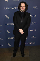 LONDON, UK. October 01, 2019: Edgar Wright at the Luminous Gala 2019 at the Roundhouse Camden, London.<br /> Picture: Steve Vas/Featureflash