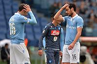 Marco Parolo Lazio.<br /> Roma 18-01-2015 Stadio Olimpico. Football Calcio 2014/2015 Serie A. Lazio - Napoli. Foto Antonietta Baldassarre / Insidefoto