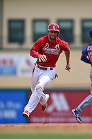 St. Louis Cardinals second baseman Pete Kozma (38) during a Spring Training game against the New York Mets on April 2, 2015 at Roger Dean Stadium in Jupiter, Florida.  The game ended in a 0-0 tie.  (Mike Janes/Four Seam Images)