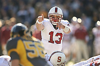 2 December 2006: T.C. Ostrander during Stanford's 26-17 loss to Cal in the 109th Big Game at Memorial Stadium in Berkeley, CA.
