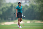 Suzann Pettersen plays during the World Celebrity Pro-Am 2016 Mission Hills China Golf Tournament on 23 October 2016, in Haikou, Hainan province, China. Photo by Marcio Machado / Power Sport Images
