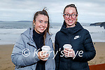 Enjoying a stroll and a cuppa in Ballybunion on Saturday, l to r: Kate and Mia Stack.