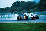 FFF Racing by ACM, #10 Lamborghini Huracan GT3, driven by Hiroshi Yamaguchi, Matt Bell and Andrea Caldarelli in action during Asian LMS Qualifying (GT, GT Cup) of the 2016-2017 Asian Le Mans Series Round 1 at Zhuhai Circuit on 29 October 2016, Zhuhai, China.  Photo by Marcio Machado / Power Sport Images