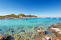 The small island Aponisos near Agistri island, Greece