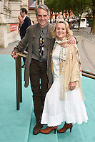 Jeremy Irons and Sinead Cusack<br /> arrives for the V&A Summer Party 2016, South Kensington, London.<br /> <br /> <br /> ©Ash Knotek  D3135  22/06/2016
