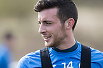 St Johnstone Training…07.04.17<br />Joe Shaughnessy pictured during training this morning at McDiarmid Park ahead of tomorrow's trip to Inverness<br />Picture by Graeme Hart.<br />Copyright Perthshire Picture Agency<br />Tel: 01738 623350  Mobile: 07990 594431