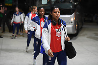 JACKSONVILLE, FL - NOVEMBER 10: Margaret Purce #30 of the United States inters the stadium during a game between Costa Rica and USWNT at TIAA Bank Field on November 10, 2019 in Jacksonville, Florida.