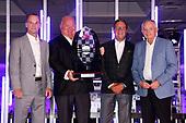 Barry Wanser,  Chip Ganassi, Ricky Davis, Chief Mechanic, Mike Hull, Chip Ganassi Racing Honda,