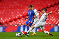 25th March 2021; Wembley Stadium, London, England;  Jesse Lingard England passes the ball during the World Cup 2022 Qualification match between England and San Marino at Wembley Stadium in London, England.