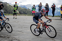 Richie Porte (AUS/Ineos Grenadiers) shoots up the finale towards La Plagne (HC/2072m/17.1km@7.5%) to become 2nd in the stage and the new overall leader<br /> <br /> 73rd Critérium du Dauphiné 2021 (2.UWT)<br /> Stage 7 from Saint-Martin-le-Vinoux to La Plagne (171km)<br /> <br /> ©kramon