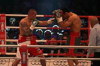 Felix Sturm, (D, rot-grau) vs. Martin Murray (rot-weiss, GBR)