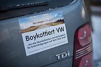 2017/01/05 Politik | Kampagne VW-Boykott