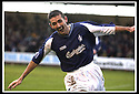 25/1/03       Copyright Pic : James Stewart                  .File Name : stewart-falkirk v hearts 06.OWEN COYLE CELEBRATES AFTER HE SCORES FALKIRK'S SECOND GOAL........James Stewart Photo Agency, 19 Carronlea Drive, Falkirk. FK2 8DN      Vat Reg No. 607 6932 25.Office : +44 (0)1324 570906     .Mobile : + 44 (0)7721 416997.Fax     :  +44 (0)1324 570906.E-mail : jim@jspa.co.uk.If you require further information then contact Jim Stewart on any of the numbers above.........