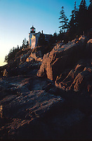 Bass Harbor Light, Acadia National Park, Maine, ME