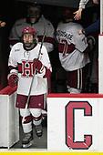 Frédéric Grégoire (Harvard - 71) - The visiting Colgate University Raiders shut out the Harvard University Crimson for a 2-0 win on Saturday, January 27, 2018, at Bright-Landry Hockey Center in Boston, Massachusetts.