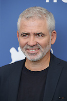 """VENICE, ITALY - SEPTEMBER 10: Stéphane Brizé at the photocall for """"Un Autre Monde"""" during the 78th Venice International Film Festival on September 10, 2021 in Venice, Italy. <br /> CAP/GOL<br /> ©GOL/Capital Pictures"""
