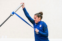 ORLANDO, FL - JANUARY 12: Carli Lloyd #10 of the USWNT works out at the team hotel on January 12, 2021 in Orlando, Florida.